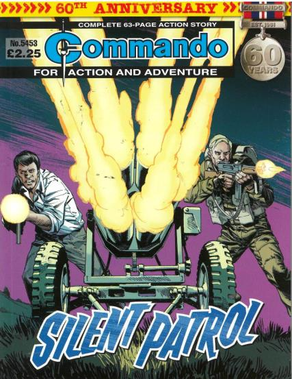 Commando Action Adventure magazine