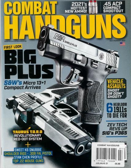 Combat Handguns magazine
