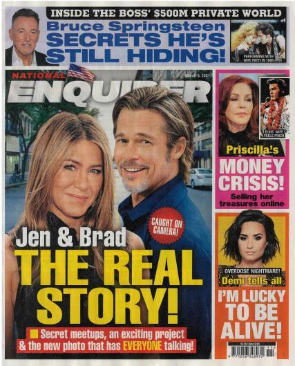 National Enquirer magazine