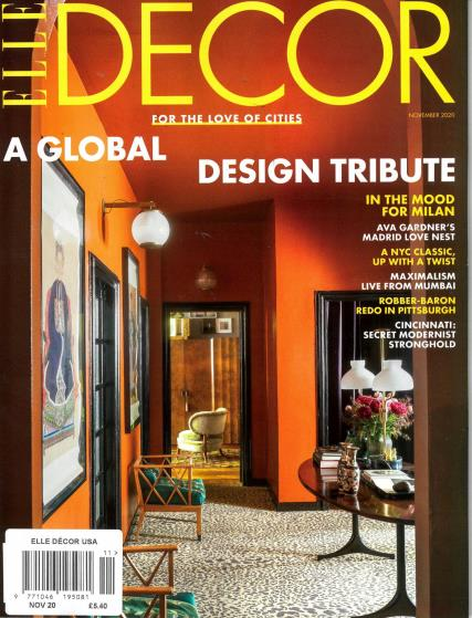 Elle Decor USA magazine