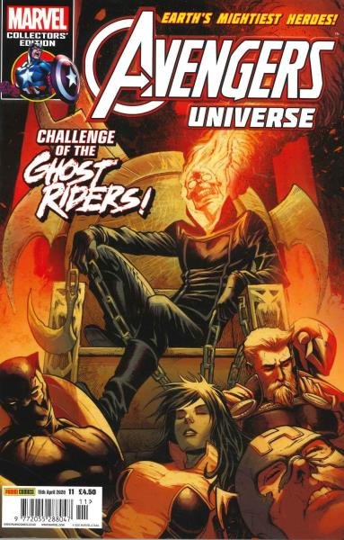 Avengers Universe magazine