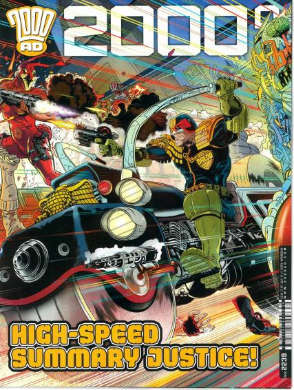 2000 AD Weekly magazine
