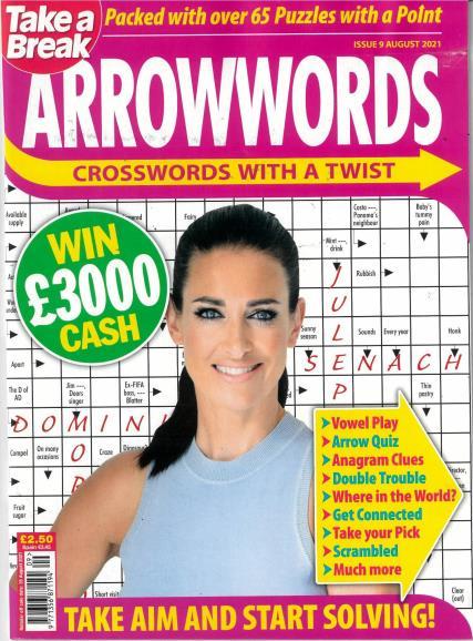 Take A Break's Arrowwords magazine