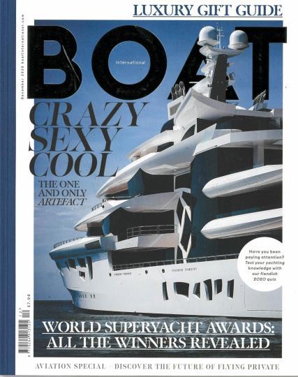 Boat International magazine