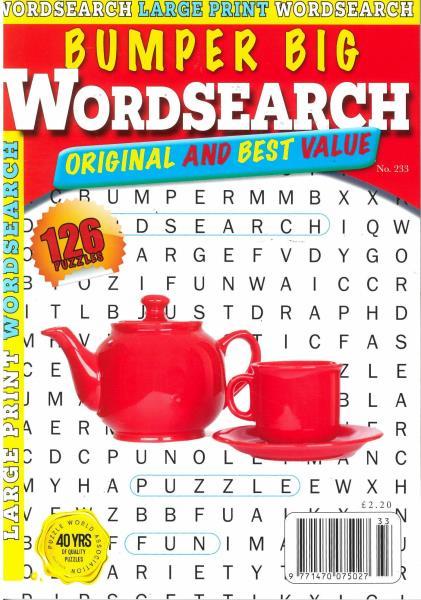Bumper Big Word Search magazine