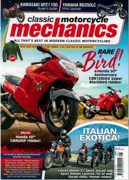 Classic Motorcycle Mechanics magazine
