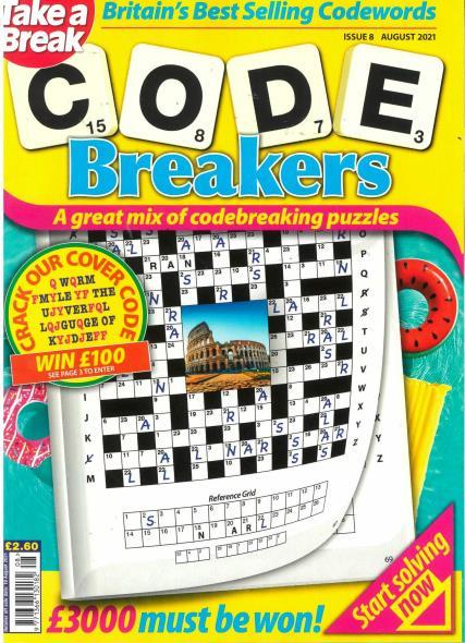 Take a Break Codebreakers magazine