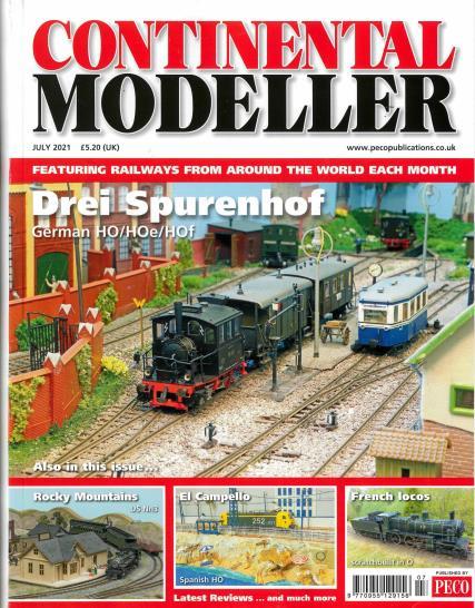 Continental Modeller magazine