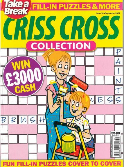 Take A Break's Crisscross magazine