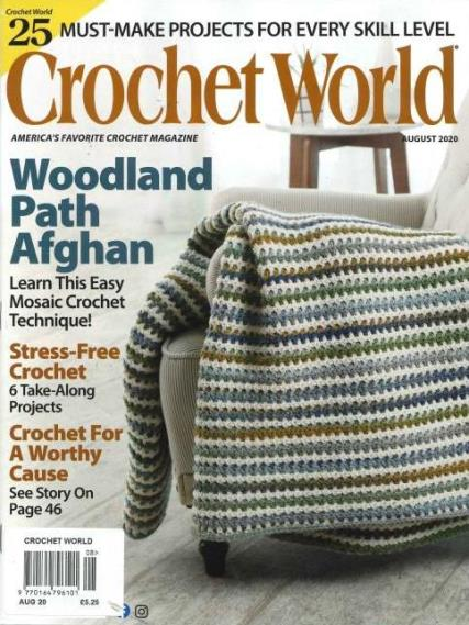 Crochet World magazine