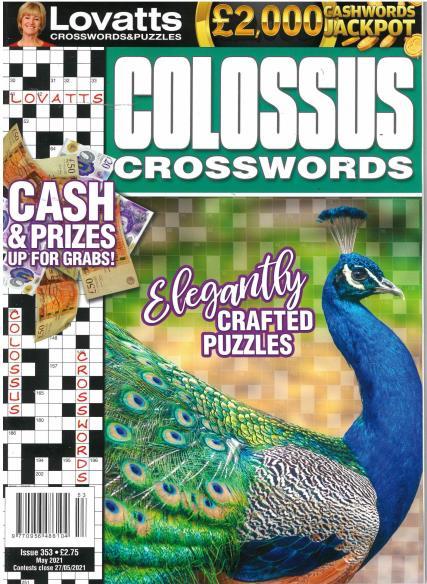 Lovatts Colossus Crosswords magazine