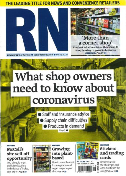 Retail Newsagent magazine