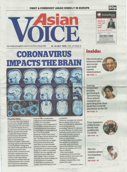 Asian Voice magazine