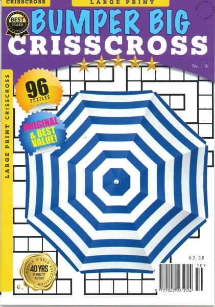 Bumper Big Criss Cross magazine