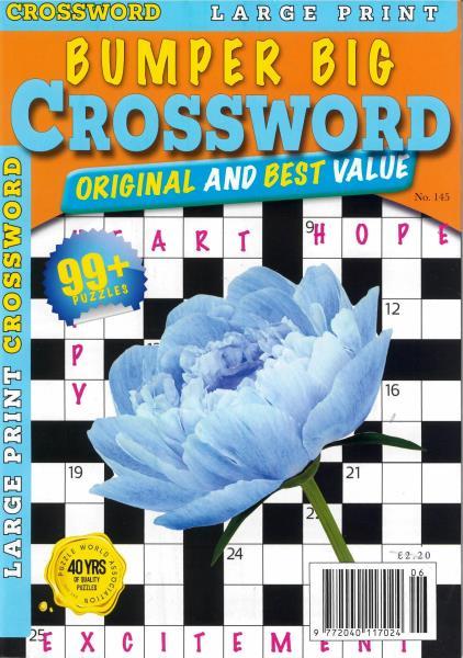 Bumper Big Crosswords magazine