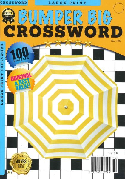 Bumper Big Crosswords magazine