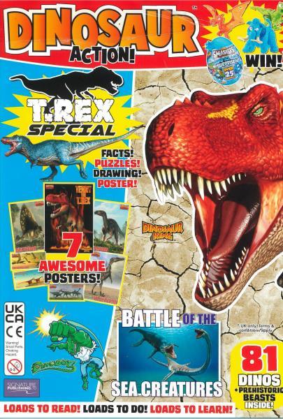 Dinosaur Action magazine
