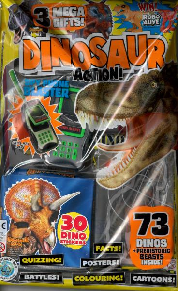 Dinosaur Action magazine