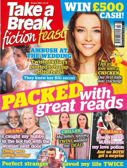 Take A Break Fiction Feast magazine
