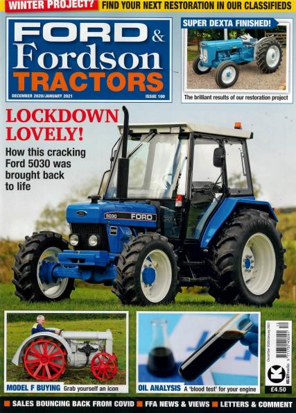 Ford and Fordson Tractors magazine