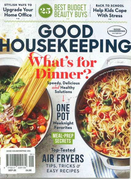 Good Housekeeping USA magazine
