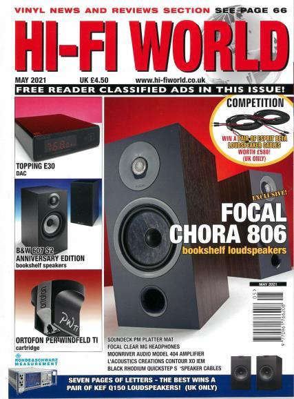 Hi-Fi World magazine