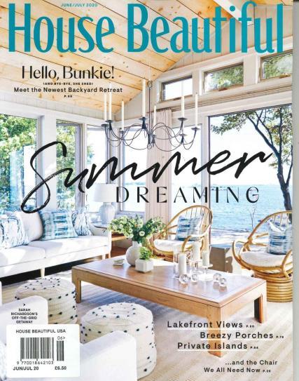 House Beautiful USA magazine