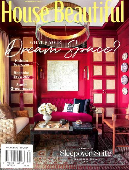 House Beautiful USA magazine
