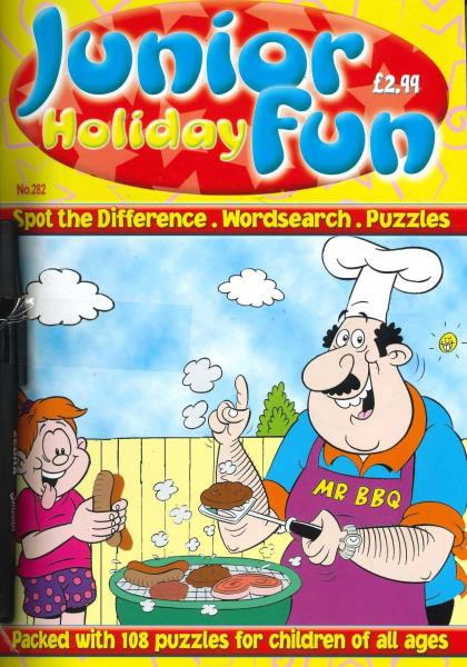 Junior Holiday Fun magazine