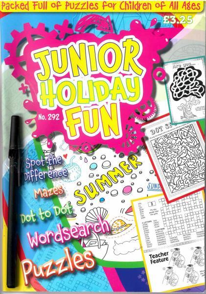 Junior Holiday Fun magazine