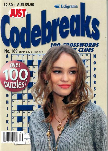 Just Codebreaks magazine