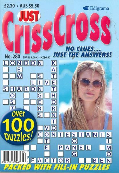 Just Criss Cross magazine
