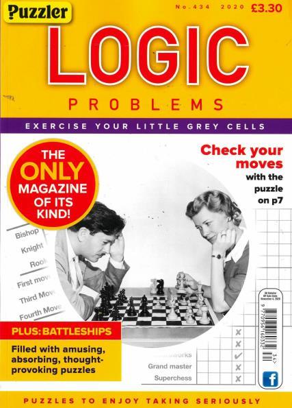 Puzzler Logic Problems magazine