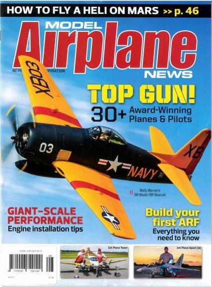 Model Airplane News magazine
