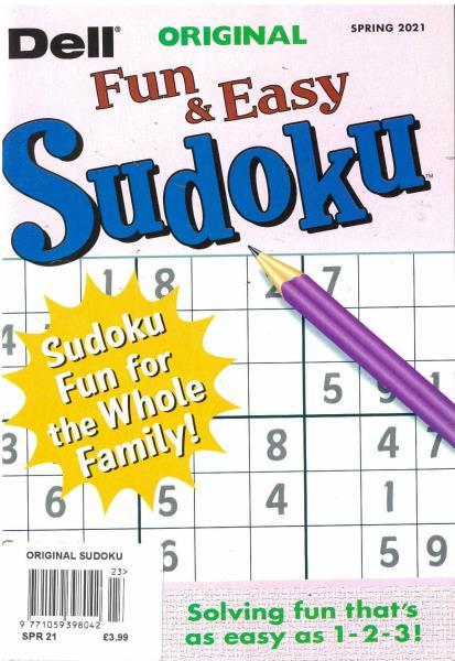 Original Sudoku magazine