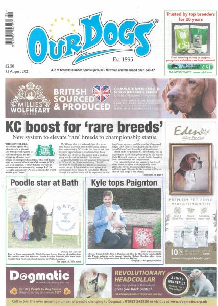 Our Dogs magazine