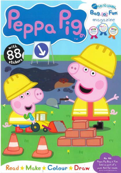 Peppa Pig Bag O Fun magazine
