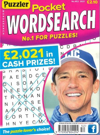 Pocket Puzzler Wordsearch magazine