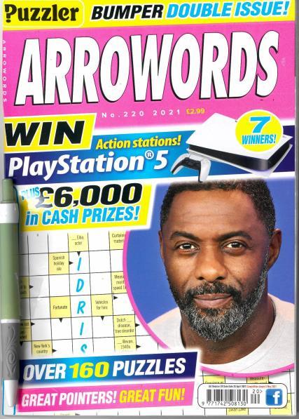 Puzzler Arrowords magazine