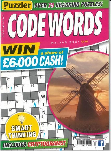 Puzzler Codewords magazine