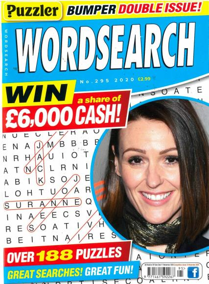 Puzzler Wordsearch magazine