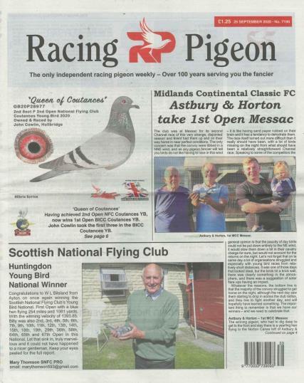 Racing Pigeon magazine