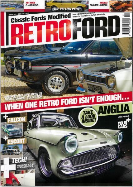 Retro ford magazine