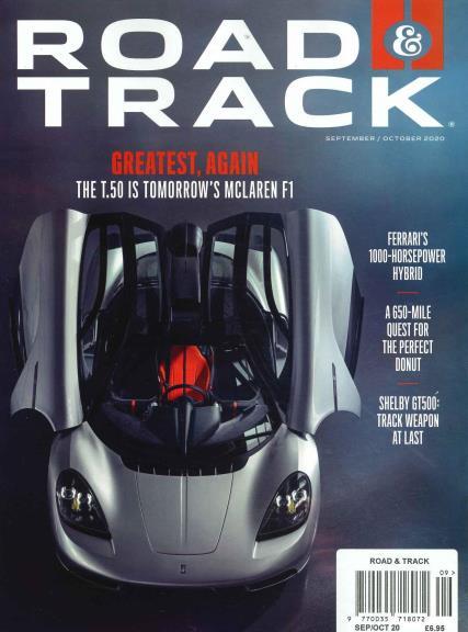 Road & Track Monthly magazine
