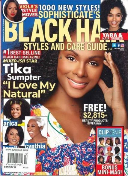 Sophisticate's Black Hair Guide magazine