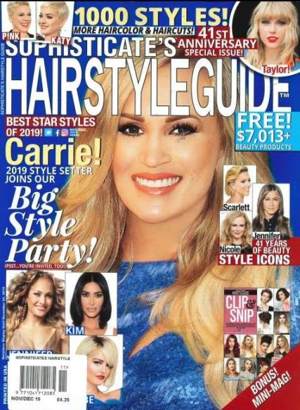 Sophisticate's Hairstyle Guide magazine