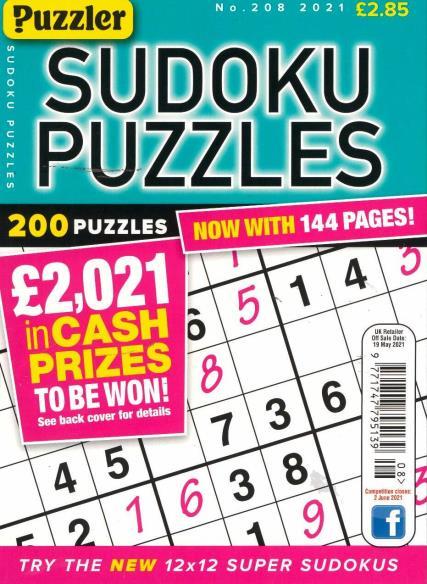Sudoku Puzzles magazine