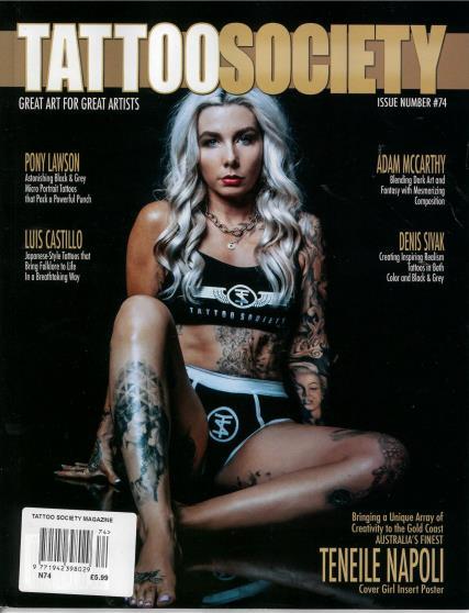Tattoo Society magazine