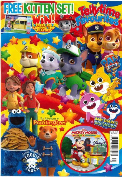 Tellytime Favourites magazine