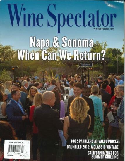 Wine Spectator magazine